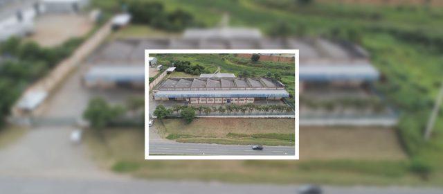 Vasta área em Bragança Paulista composta por Galpão Industrial está em 2ª praça com deságio de 40%